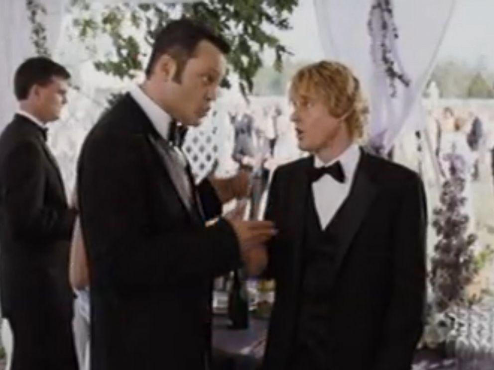 Vince Vaughn And Owen Wilson In Wedding Crashers