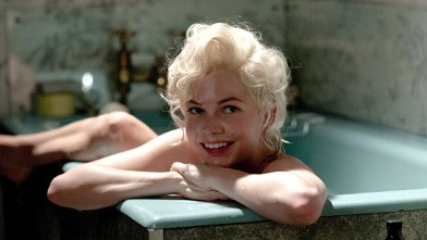 "PHOTO: Michelle Williams stars in ""My Week with Marilyn""."