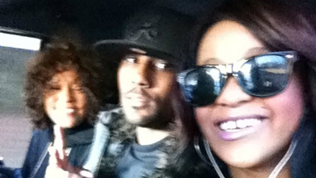 PHOTO: Bobbi Kristina Posted a picture of herself, Nick Gordon and her mother Whitney Houston on her twitter page, Dec. 26, 2011.
