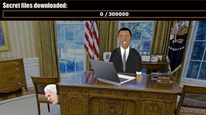 PHOTO Shown here is a new video game called WikiLeaks: The Game which allows gamers and those who cant get enough of the WikiLeaks saga to play their own fictional role in the drama.