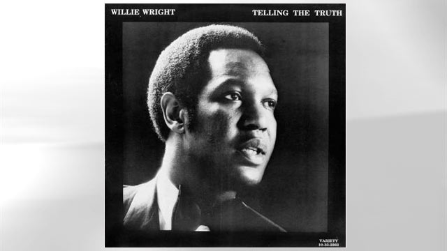 "PHOTO: The album cover for Willie Wrights ""Telling the Truth""."