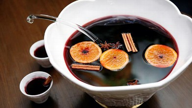 PHOTO: Julie Reiner's spiced winter punch cocktail is shown here.