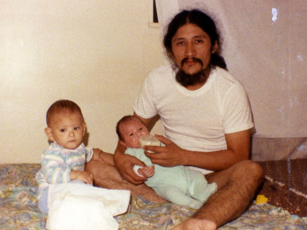PHOTO: Susanne met Oscar Angulo, a Hare Krishna devotee, when she traveled to Peru in 1989.