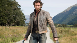 Hugh Jackman in Wolverine
