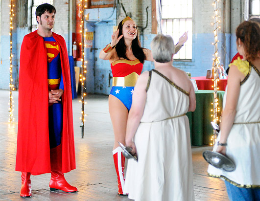 Unusual Weddings/Wonder Woman and Superman