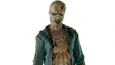 PHOTO:Zombie Halloween costume.