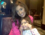 PHOTO: Farrah Abraham posted a picture with her daughter Sophia on Twitter on Jan. 5, 2013.