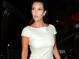 Photos: White Hot Kim Kardashian