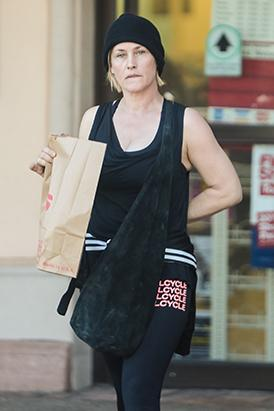 Patricia Arquette Goes Makeup-Free