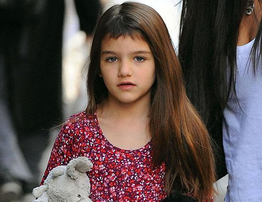 Suri Cruise Gets New Bangs