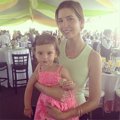Ivanka and Arabella in Palm Beach
