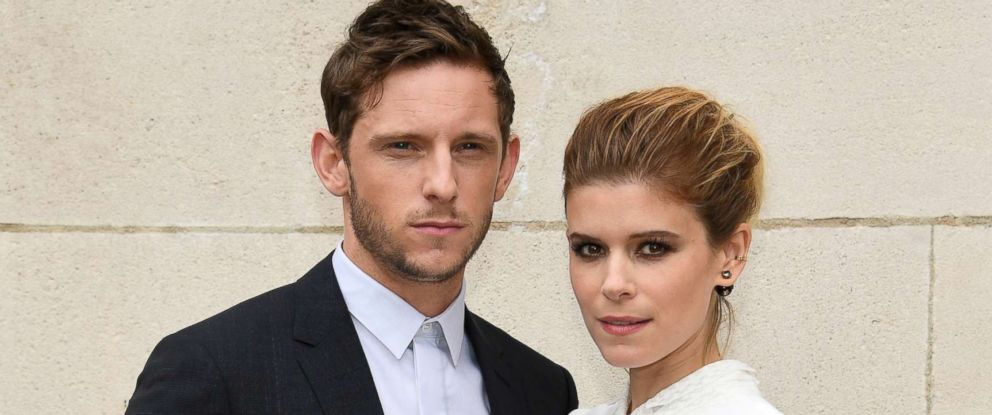 PHOTO: Jamie Bell and Kate Mara attend the Dior Homme Menswear Spring/Summer 2018 show as part of Paris Fashion Week, June 24, 2017, in Paris.