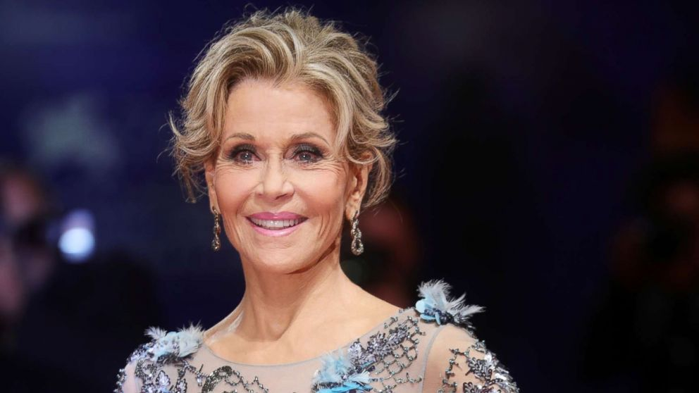 Jane Fonda calls the current political climate a 'nightmare'