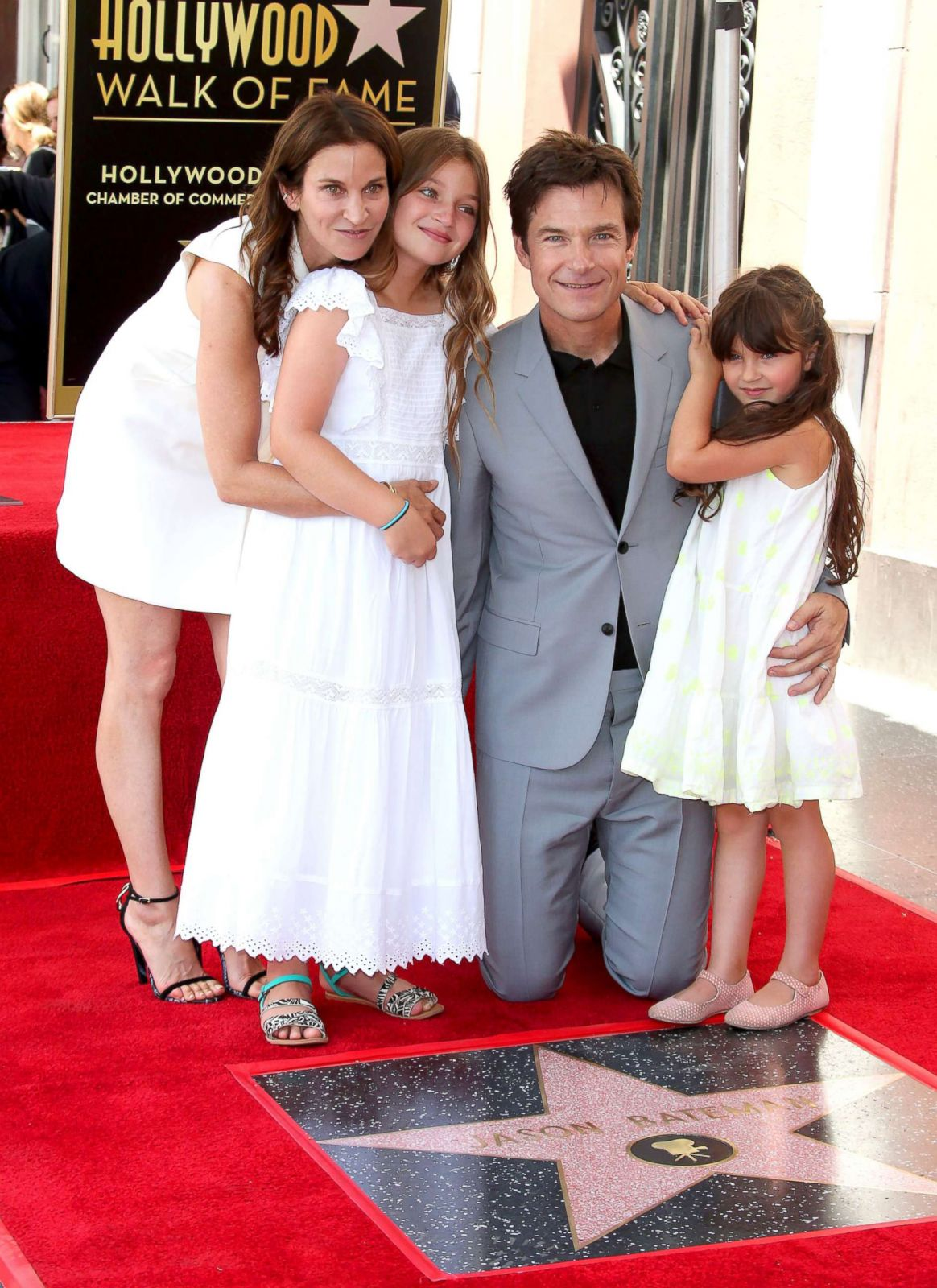 Jason Bateman S Family Attends His Star Ceremony Picture