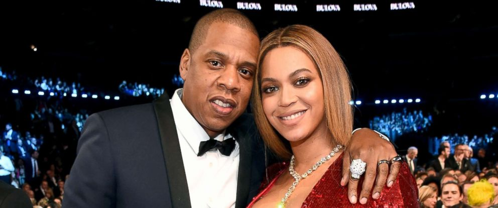 PHOTO: Jay Z and Beyonce attend the 59th Grammy Awards at the Staples Center, Feb. 12, 2017, in Los Angeles.