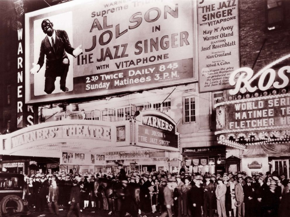 PHOTO: The Jazz Singer opens in 1927.