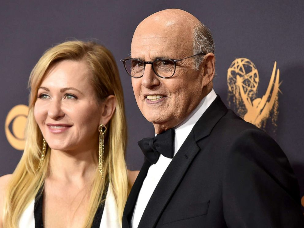 PHOTO: Jeffrey Tambor and his wife Kasia Tambor attend the 69th Annual Primetime Emmy Awards on Sept. 17, 2017 in Los Angeles.