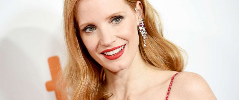 """PHOTO: Jessica Chastain attends the """"Woman Walks Ahead"""" premiere during the 2017 Toronto International Film Festival at Roy Thomson Hall, Sept. 10, 2017, in Toronto, Canada."""