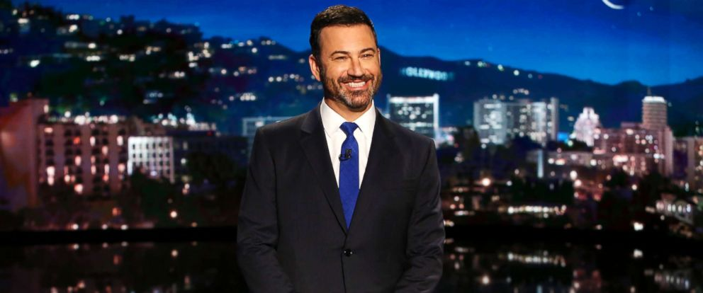 "PHOTO: Jimmy Kimmel on ""Jimmy Kimmel Live"", Sept. 14, 2017."