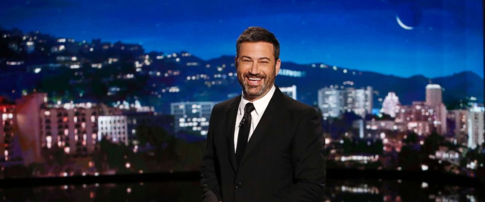 "PHOTO: Jimmy Kimmel on ""Jimmy Kimmel Live,"" Aug. 3, 2017."