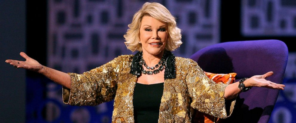 """PHOTO: Joan Rivers onstage during Comedy Centrals """"Roast of Joan Rivers,"""" July 26, 2009, in Studio City, Calif."""