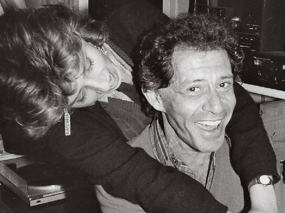 PHOTO: Joely Fisher hugs her father, Eddie Fisher, in this undated family photo.