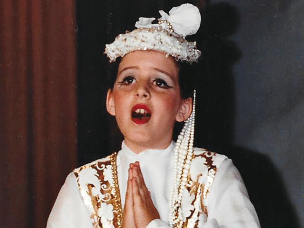 PHOTO: Joely Fisher performs in costume in this undated family photo.