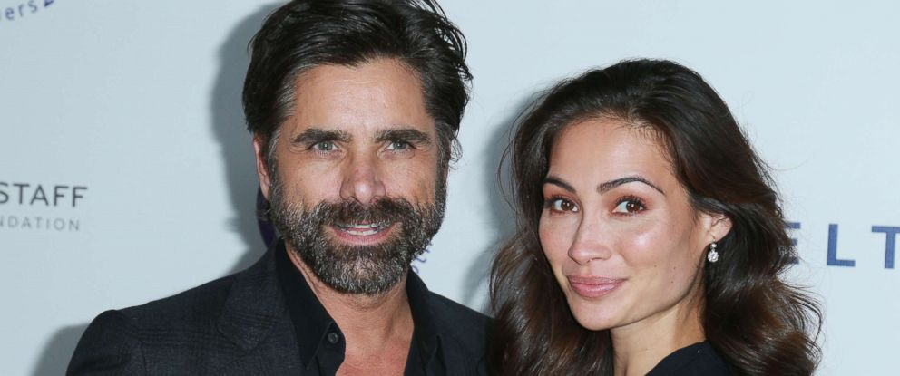 PHOTO: John Stamos and fiancee Caitlin McHugh attend an event on Oct. 24, 2017 in Beverly Hills, Calif.