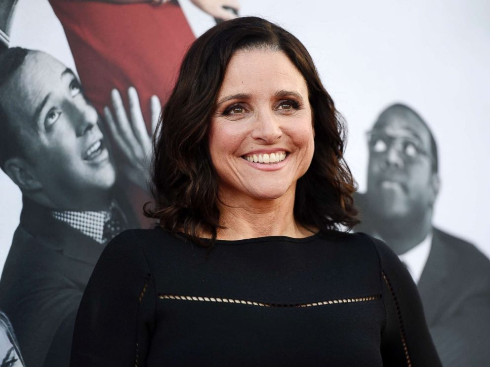 'Get out!' Julia Louis-Dreyfus wins record 6th consecutive Emmy for 'Veep'