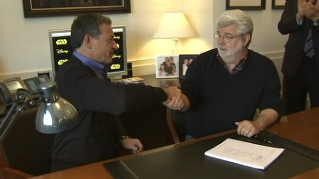 VIDEO: $4 billion deal puts Lucas Film Ltd. under The Walt Disney Company banner.