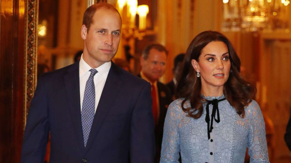 Prince William, Princess Kate reveal 3rd child due in April 2018