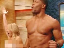 Strahan kelly nude and michael ripa