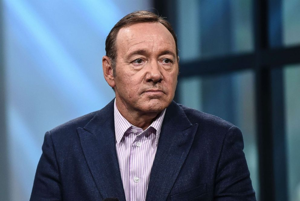 PHOTO: Kevin Spacey discusses his play Clarence Darrow at Build Studio on May 24, 2017 in New York City.