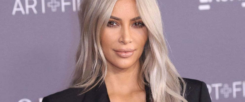 PHOTO: Kim Kardashian West arrives at the LACMA Art + Film Gala at the Los Angeles County Museum of Art, Nov. 4, 2017 in Los Angeles.