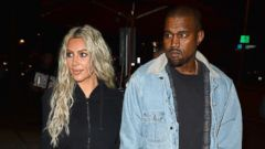 'PHOTO: Kim Kardashian and Kanye West in Los Angeles, Jan. 12, 2018.' from the web at 'http://a.abcnews.com/images/Entertainment/kim-kardashian-kanye-west-spl-ml-180116_16x9t_240.jpg'