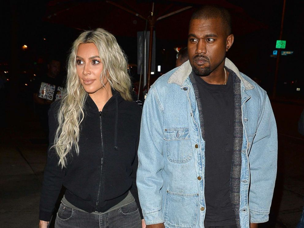 Kim Kardashian & Kanye West Name Their Baby No. 3
