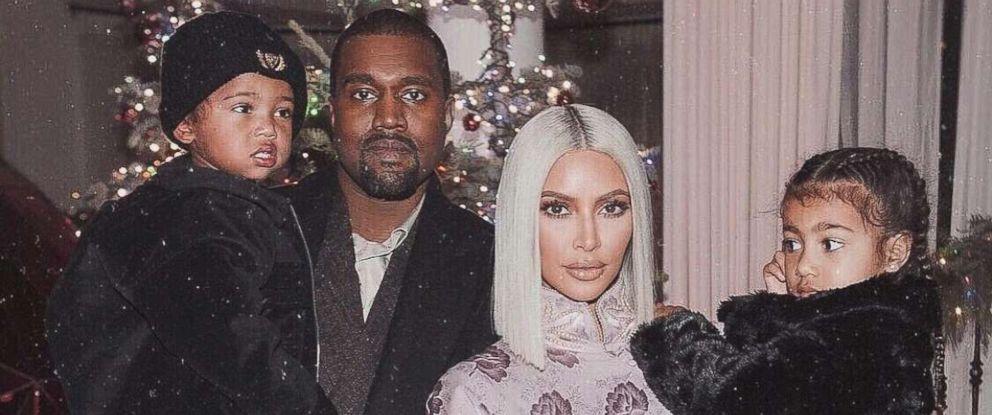 PHOTO: Kim Kardashian posted this family photo on Instagram Dec. 30, 2017.