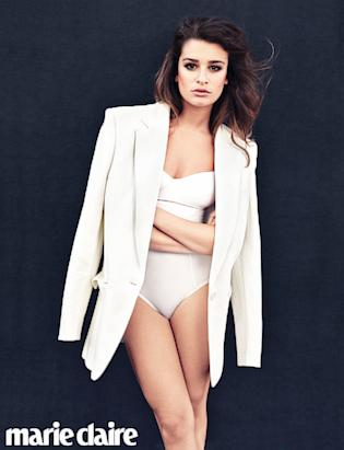 Lea Michele in Marie Claire