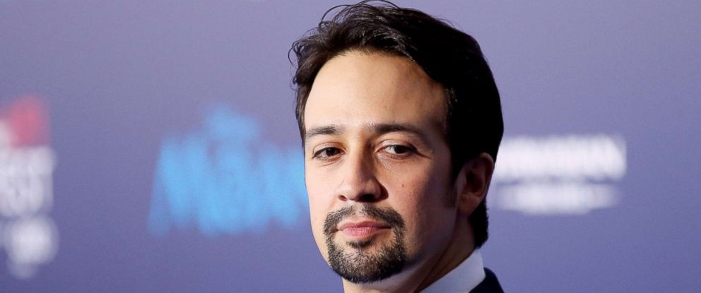 "PHOTO: Actor and composer Lin-Manuel Miranda poses at the world premiere of Walt Disney Animation Studios ""Moana"" as a part of AFI Fest in Hollywood, Calif., Nov. 14, 2016."