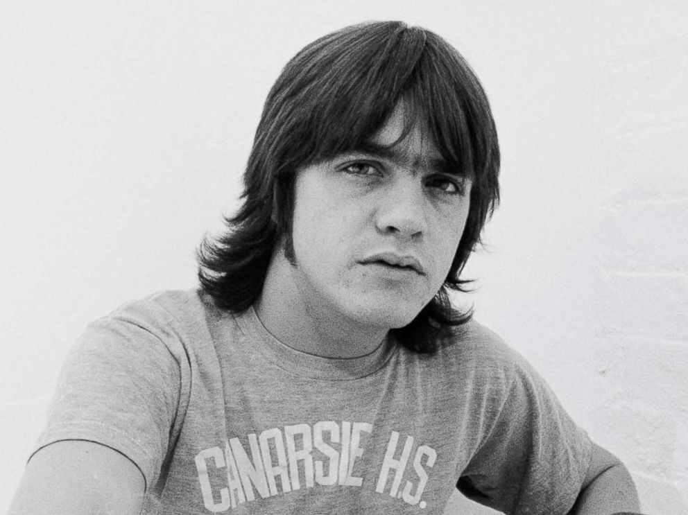 PHOTO: Malcolm Young, 64