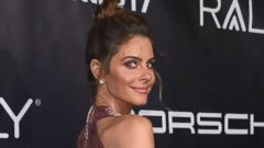 'PHOTO: Actress Maria Menounos arrives for Gabrielle's Angel Foundation for Cancer Research Angel Ball 2017,1_b@b_1Cipriani Wall Street on Oct. 23, 2017, in New York.' from the web at 'http://a.abcnews.com/images/Entertainment/maria-menounos-01-gty-jrl-180111_16x9t_240.jpg'
