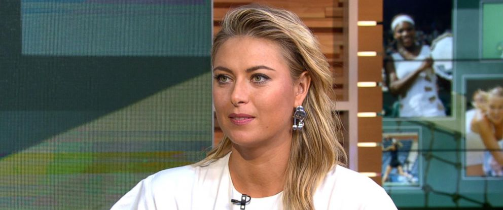 maria sharapova speaks out about returning to tennis after