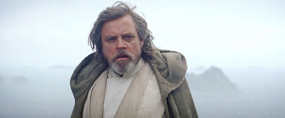 """PHOTO: Mark Hamill appears in a scene from """"Star Wars: Episode VII - The Force Awakens."""""""