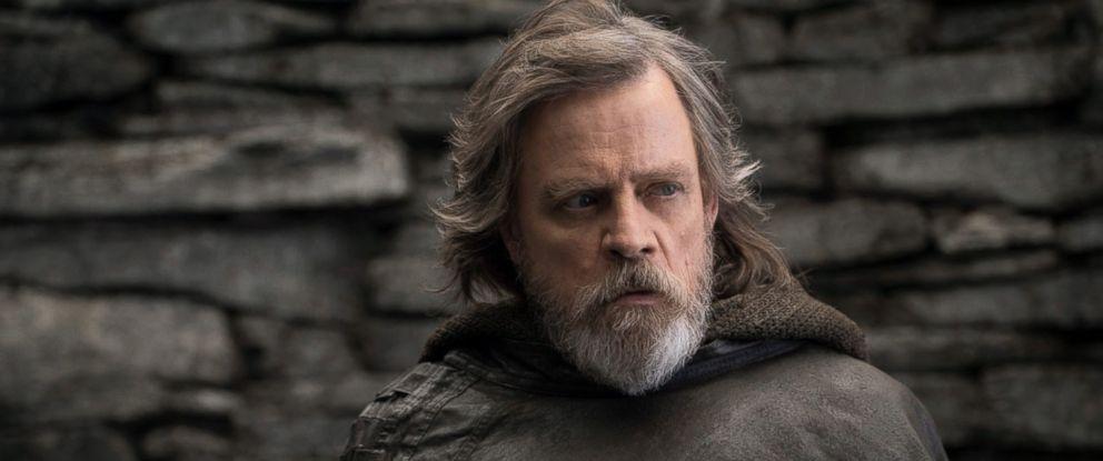 """PHOTO: Mark Hamill, as Luke Skywalker, in a scene from """"Star Wars: The Last Jedi."""""""