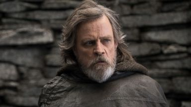 'PHOTO: Mark Hamill, as Luke Skywalker, in a scene from' from the web at 'http://a.abcnews.com/images/Entertainment/mark-hamill-last-jedi-ht-jef-171129_16x9t_384.jpg'