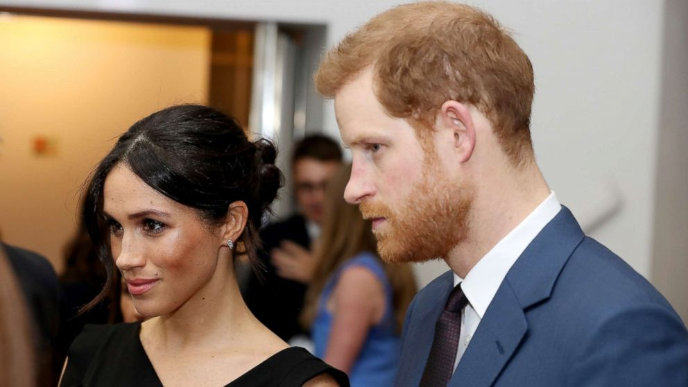 Meghan Markle joins Prince Harry in support of women's empowerment