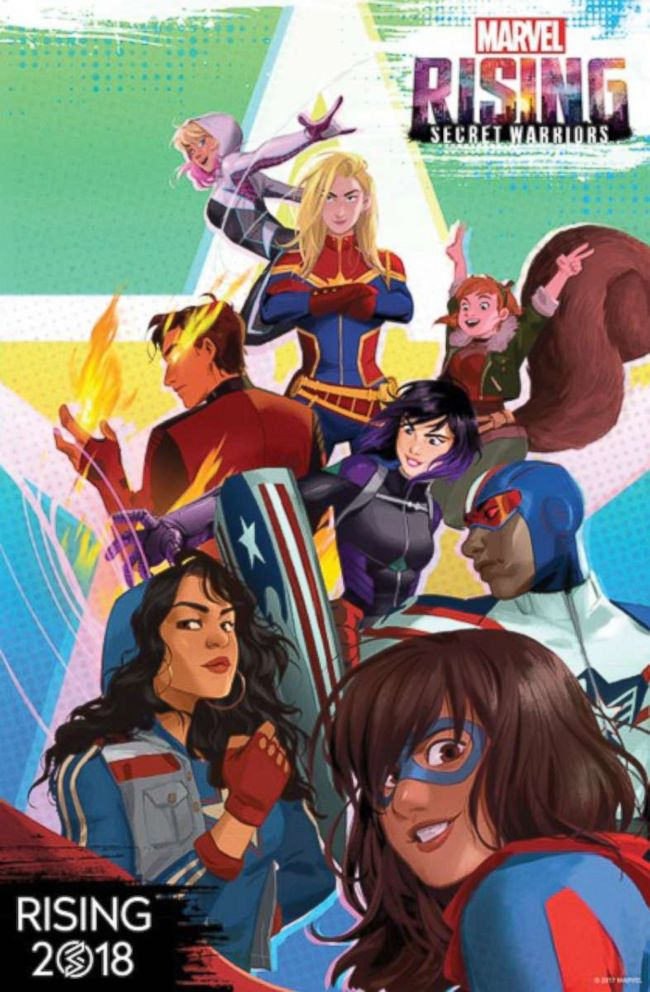 PHOTO: Marvel Rising: Secret Warriors