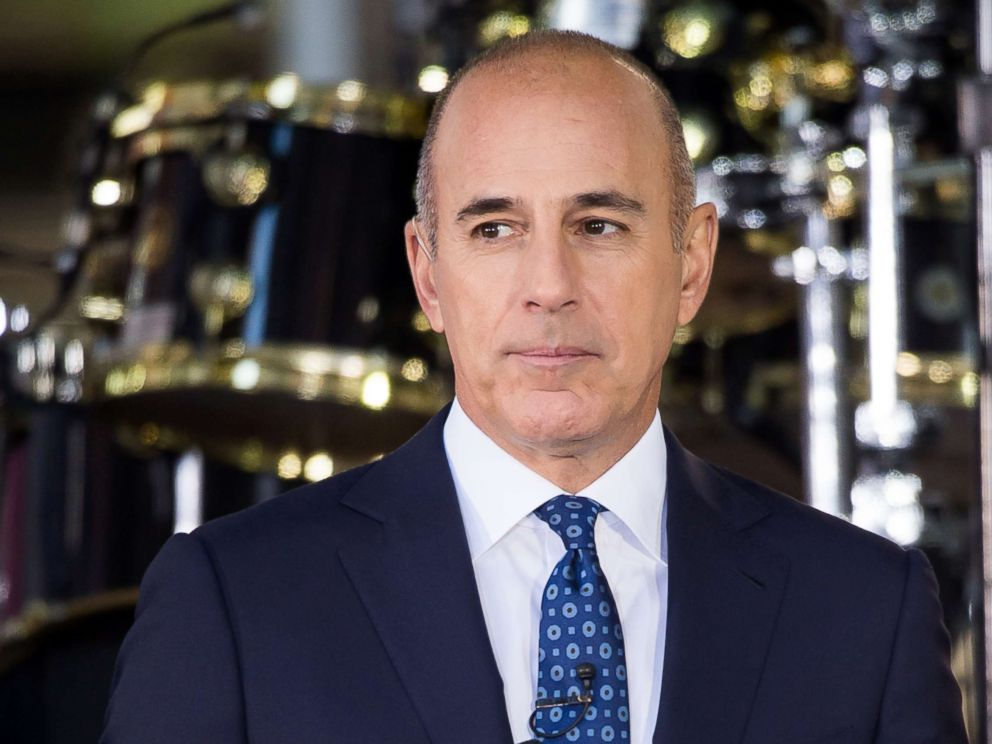 PHOTO: Matt Lauer attends NBCs Today at Rockefeller Plaza in this Sept. 29, 2017 file photo in New York City.