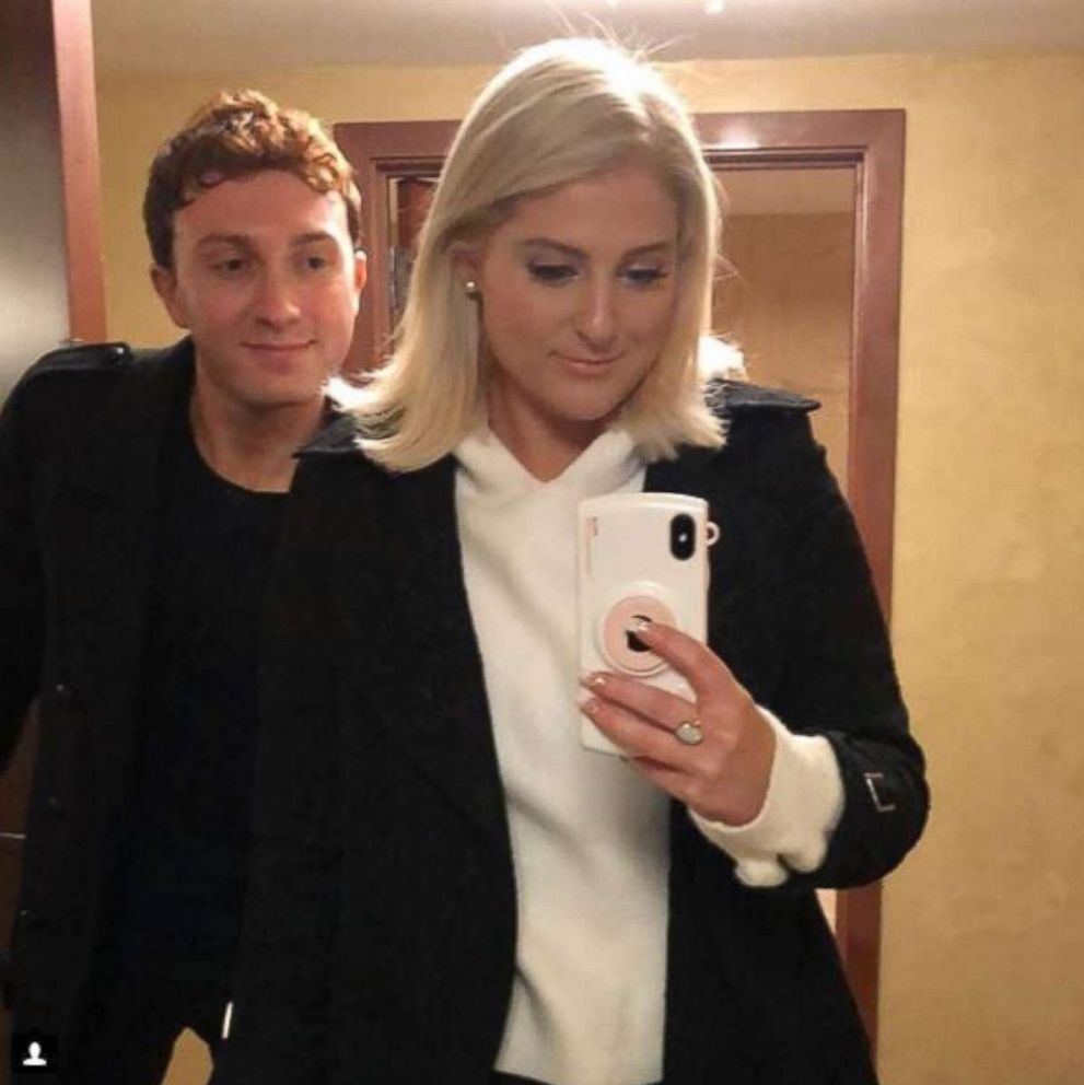PHOTO: Meghan Trainor shared this photo of herself with Daryl Sabara on her Instagram account, Dec. 22, 2017, with the caption, Soulmate.