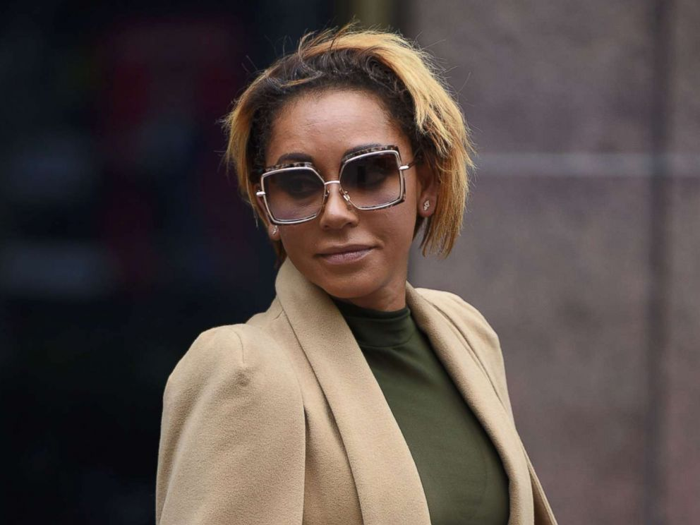 PHOTO: Melanie Brown leaves Los Angeles Superior Court Stanley Mosk Courthouse, in Los Angeles, Nov. 9, 2017.